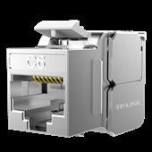 TL-EJ622F 六类屏蔽信息模块 180度免工具