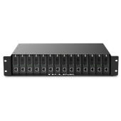 TL-FC1420 双电源14槽光纤收发器专用机架
