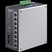TL-SG2210R工业级 环网Web网管工业以太网交换机