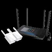 TL-H69RT&TL-H29EA(1+2套装) AC900双频触屏HyFi智能无线套装