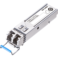 TL-SM311LS 1000Base-LX单模SFP光收发模块使用光纤传输,扩展局域网,可配合多款TP-LINK交换机使用