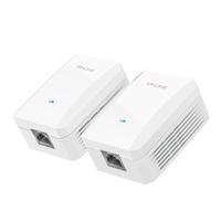 TL-PA201套装 电力线适配器电线变网线,解决布线难,iPTV组网利器。即插即用无须设置。