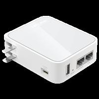 TL-WR720N 150M迷你型3G无线路由器USB口可给手机充电,双以太网口,同时满足有线无线共享需求!