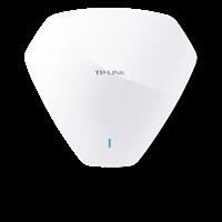 TL-AP300C-PoE 300M无线吸顶式AP标准PoE网线供电,智能配置,会设置无线路由就会管理无线网络