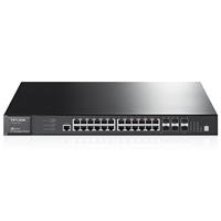 TL-SG6428Q 24口千兆+4口万兆可堆叠三层网管交换机24口千兆+4口万兆可堆叠,支持静态、动态路由功能