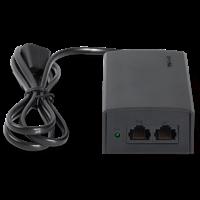 TL-POE160S 标准PoE供电器最大传输距离可达100m,拓展传统电力线网络