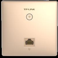 TL-AP302I-PoE 香槟金  300M无线面板式AP更薄壳体,更小入墙体积,更时尚外观设计