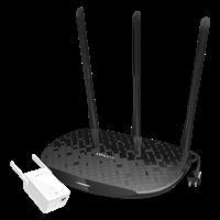 TL-H39RD&TL-H29EA 450M HyFi智能无线套装电线变网线,信号处处强!
