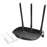 TL-H39RD&TL-H29EA(1+2套装) 450M HyFi智能无线套装电线变网线,Wi-Fi全屋全覆盖