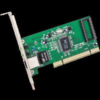 TG-3269C 10/100/1000M自适应PCI网卡支持无盘启动,最高可提供2000M的双向数据传输速率