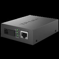 TL-FC111B 百兆单模单纤光纤收发器 1SC+1FE单模单纤传输,最长传输距离可达20km