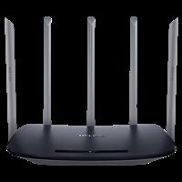 TL-WDR6500千兆版  AC1350双频千兆无线路由器千兆端口,充分利用每一滴带宽!尤其适合高带宽光纤接入!
