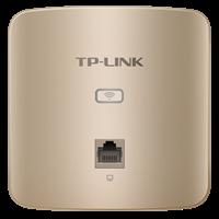 TL-AP302I-PoE 薄款香槟金  300M无线面板式AP更薄壳体,更小入墙体积,更时尚外观设计