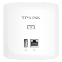 TL-AP303I-PoE 薄款 300M无线面板式APUSB供电,超纤薄壳体