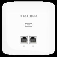 TL-AP456I-PoE 薄款 300M无线面板式AP更薄壳体,更小入墙体积,双网口设计