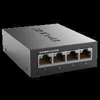 TL-FC114B 百兆单模单纤光纤收发器 1SC+4FE单模单纤传输,最长传输距离可达20km