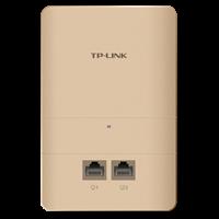 TL-AP1200GI-PoE 香槟金 AC1200双频千兆无线面板式AP2.4G/5G 双频并发,无线速率高达1167Mbps