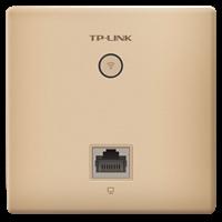 TL-AP1202I-PoE 香槟金 AC1200双频无线面板式AP2.4G/5G 双频并发,无线速率高达1167Mbps