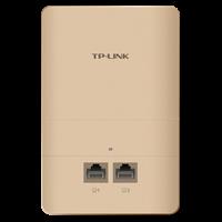 TL-AP1200I-PoE 香槟金 AC1200双频无线面板式AP2.4G/5G 双频并发,无线速率高达1167Mbps