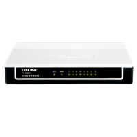 TL-R860+ 多功能宽带路由器8个有线LAN口,性能优越,配置简单!TP品质,值得信赖!