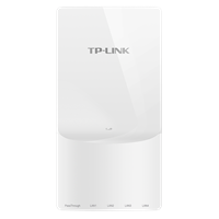 TL-AP1758GI-PoE AC1750双频千兆无线面板式AP2.4G/5G 双频并发,无线速率高达1750Mbps