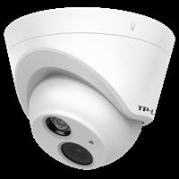 TL-IPC423P-S2.8 H.265 200万PoE红外网络摄像机最高分辨率1920×1080@25fps,输出200万像素清