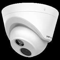 TL-IPC223KP-S4 PoE音频红外网络摄像机分辨率可达1920×1080;双向语音,随时通话