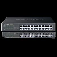 TL-SG1024T T系列24口全千兆非网管交换机全千兆非网管以太网交换机,提供24个RJ45端口